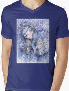 Snow Queen Mens V-Neck T-Shirt