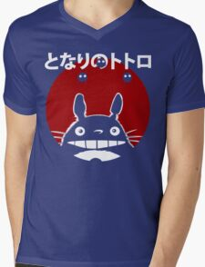 Totoro Mens V-Neck T-Shirt