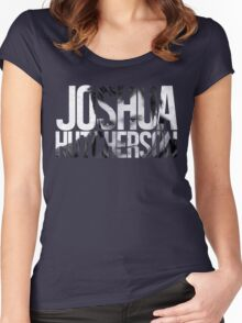 Joshua Hutcherson Women's Fitted Scoop T-Shirt