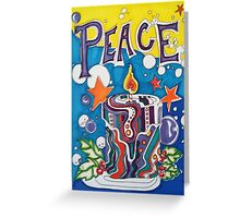 Peace to All Original Design Greeting Card