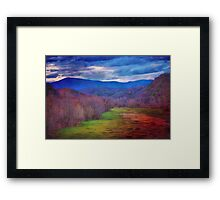 Lead the way Framed Print