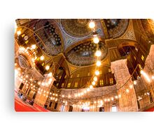Lift Me Up - Cairo Landmark Mosque Canvas Print