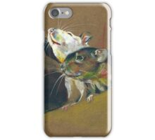 Rat duo I iPhone Case/Skin