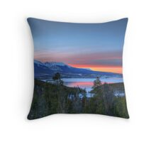 Lake Dillon East Sunset Throw Pillow
