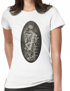 """Cosmic Consciousness 4""  Womens Fitted T-Shirt"