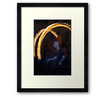 Fire Dancer II Framed Print