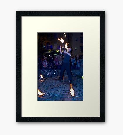 Fire Dancer III Framed Print