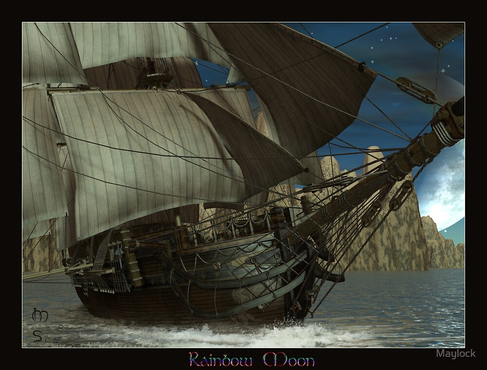 """Rainbow Moon """"Revised & Finished"""" by Maylock"""