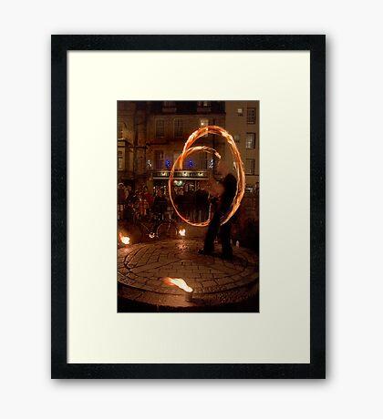 Fire Dancer IV Framed Print