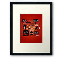 Hawaii Five-0 Quotes Framed Print