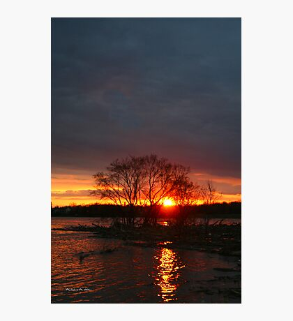 Flood Waters Photographic Print