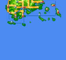 Hoenn map by Roes Pha