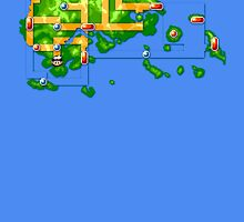 Hoenn map by Roes Pha