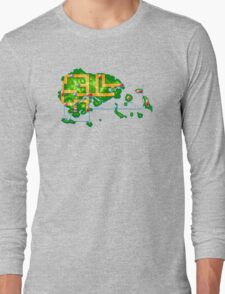 Hoenn map Long Sleeve T-Shirt