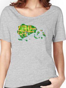 Hoenn map Women's Relaxed Fit T-Shirt
