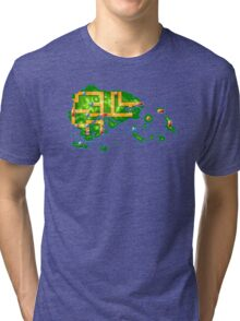 Hoenn map Tri-blend T-Shirt