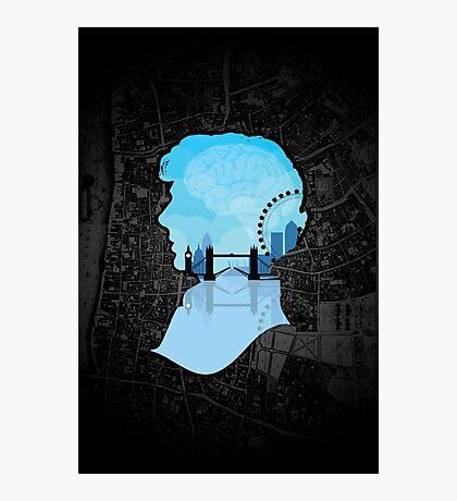 Sherlock's London Photographic Print