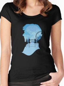Sherlock's London Women's Fitted Scoop T-Shirt