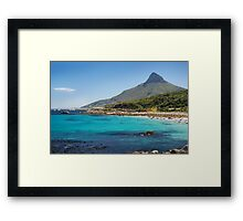 The Fairest Cape #2 Framed Print