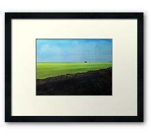 Prairie Shadows Framed Print
