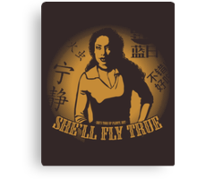 She'll Fly True Canvas Print