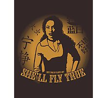 She'll Fly True Photographic Print