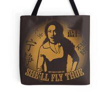 She'll Fly True Tote Bag