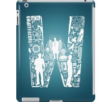 W Is For Winchester iPad Case/Skin