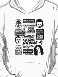 Being Human Quotes T-Shirt