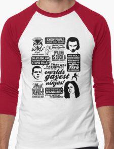 Being Human Quotes Men's Baseball ¾ T-Shirt