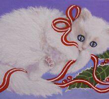 Mischievous Kitty by Dian Bernardo