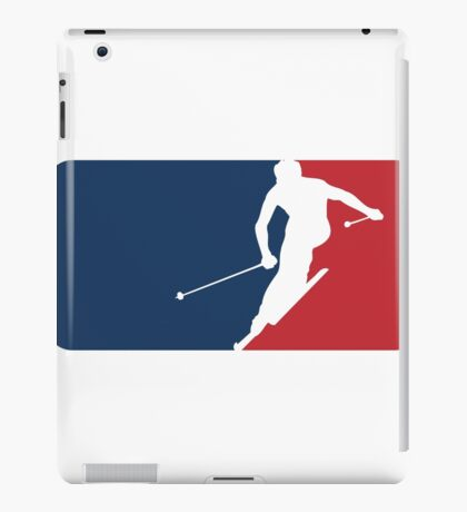 Skiing iPad Case/Skin