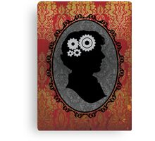 Mind of a Genius Canvas Print