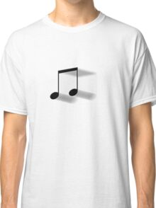 Blurred 8th Notes Classic T-Shirt