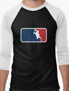 Skateboarding Men's Baseball ¾ T-Shirt