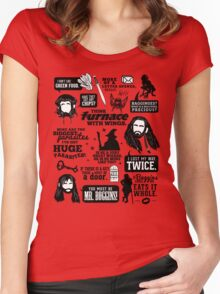 Hobbit Quotes Women's Fitted Scoop T-Shirt