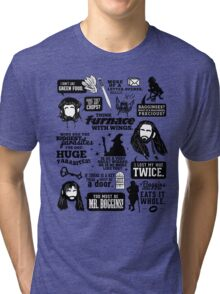 Hobbit Quotes Tri-blend T-Shirt