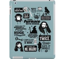 Hobbit Quotes iPad Case/Skin