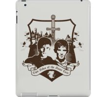Two Sides of the Same Coin iPad Case/Skin
