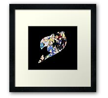 Fairy Tail Guild Framed Print