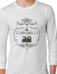 Heirs of Durin Pony Rides Long Sleeve T-Shirt