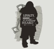 Loyalty. Honor. A Willing Heart. by Avia Asner
