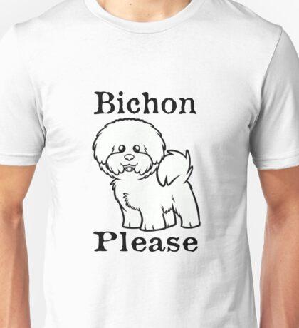 Bichon Please Unisex T-Shirt