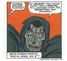 MF Doom - Metal Fingerz by vexyla