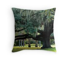Wide Branches Throw Pillow