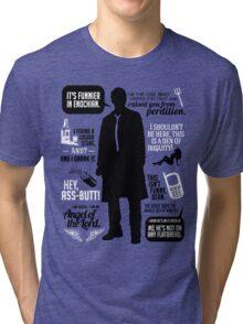 Castiel Quotes Tri-blend T-Shirt