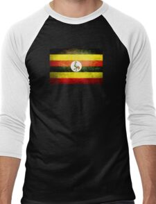 Uganda - Vintage Men's Baseball ¾ T-Shirt