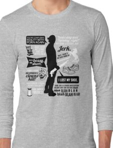Sam Winchester Quotes Long Sleeve T-Shirt