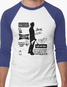 Sam Winchester Quotes Men's Baseball ¾ T-Shirt