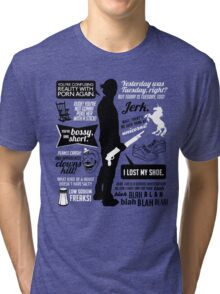 Sam Winchester Quotes Tri-blend T-Shirt